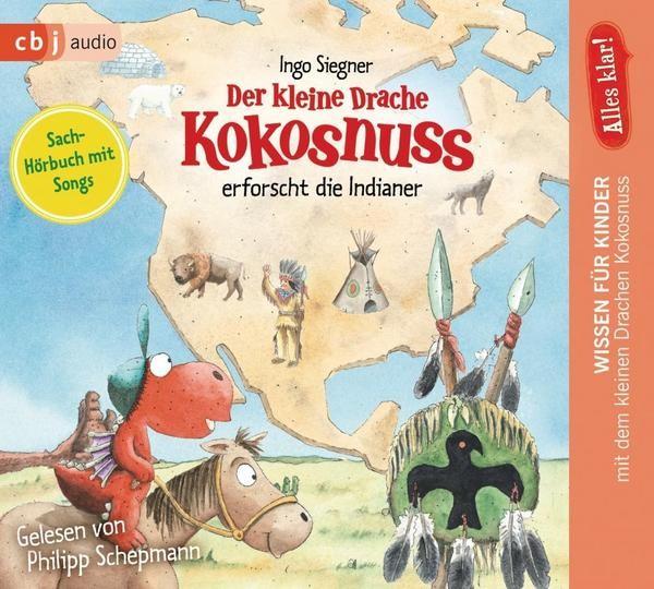 Der kleine Drache Kokosnuss erforscht die Indianer