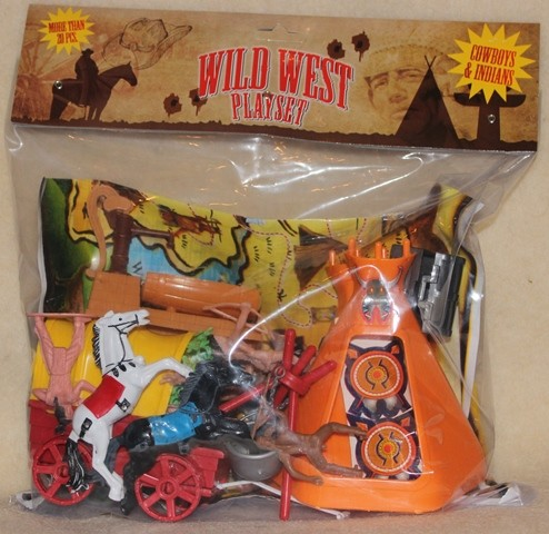 Wild-West-Play-Set