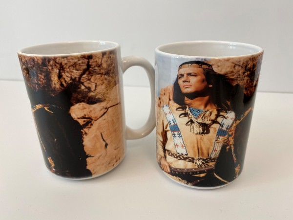 "Tasse/Becher ""Winnetou (Pierre Brice)"""