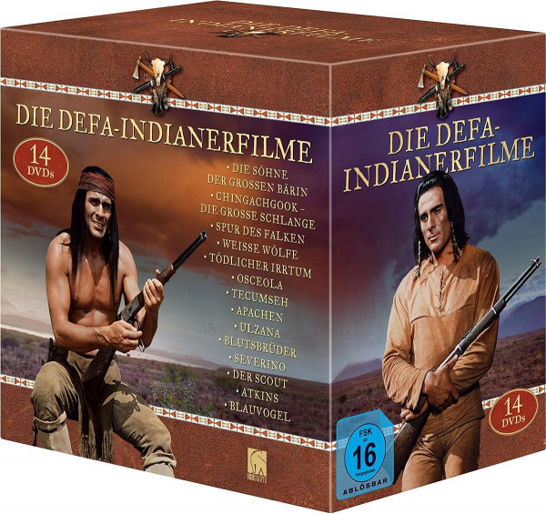 Indianer-Box (12x Gojko + Atkins + Blauvogel) (14 Discs) DVD