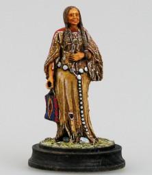 Schwarzfuß-Indianerin, bemalt