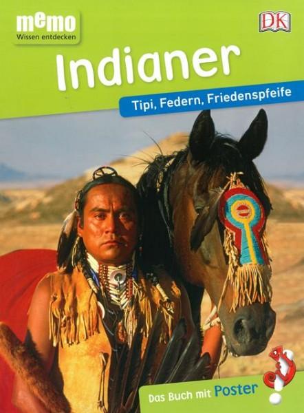 Indianer - Tipi, Federn, Friedenspfeife