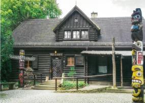 Postkarte Villa Bärenfett