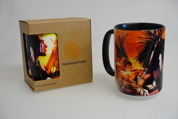 "Tasse/Becher ""Indian Collage"""