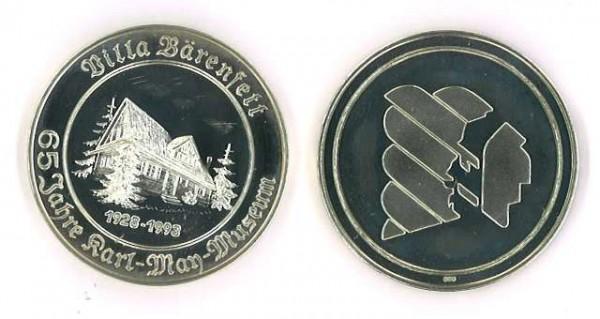 """Silber-Medaille """"Villa Bärenfett"""""""