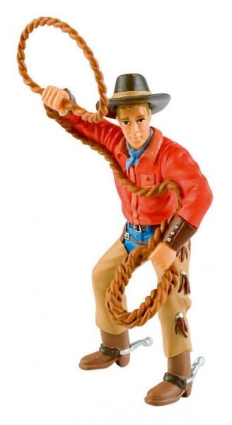 Cowboy mit Lasso