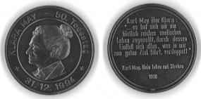Silber-Medaille Klara May
