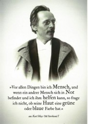 Postkarte Karl May 1896
