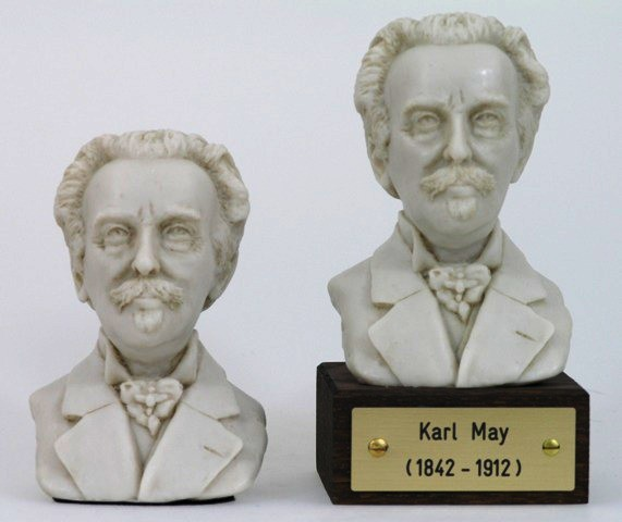 Karl May Büste