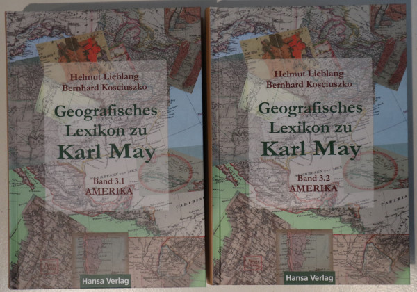 Geografisches Lexikon zu Karl May Band 3 - Amerika
