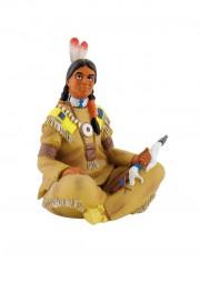Indianer mit Beil