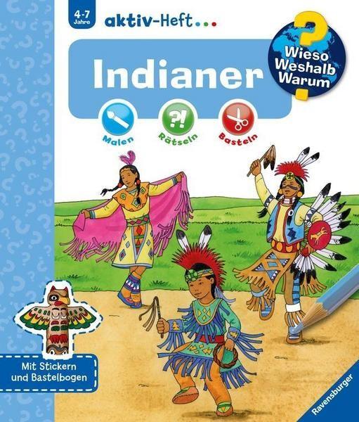Indianer aktiv-Heft