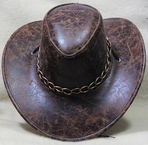 Cowboyhut mit Kette