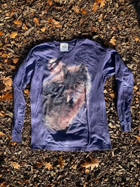 """T-Shirt Langarmshirt """"Wolf"""""""