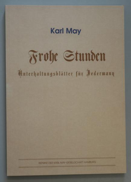 Frohe Stunden Unterhaltungsblätter für Jedermann Reprint
