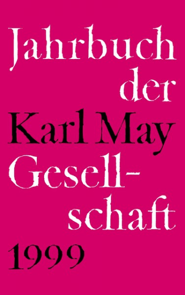 1999 Jahrbuch der Karl-May-Gesellschaft