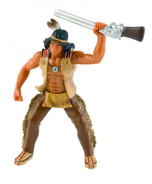 Indianer mit Gewehr