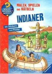 Indianermalbuch