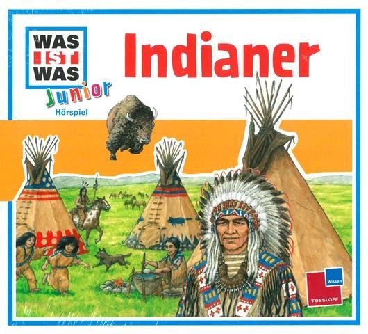 WAS IST WAS Junior-Hörspiel Indianer